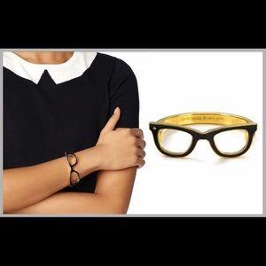Kate spade x brad goreski glasses bangle bracelet